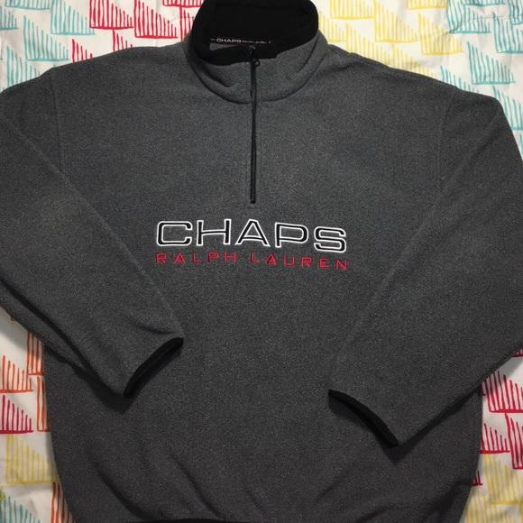 Ralph Lauren - Ralph Lauren Chaps Large Logo Fleece Jacket from
