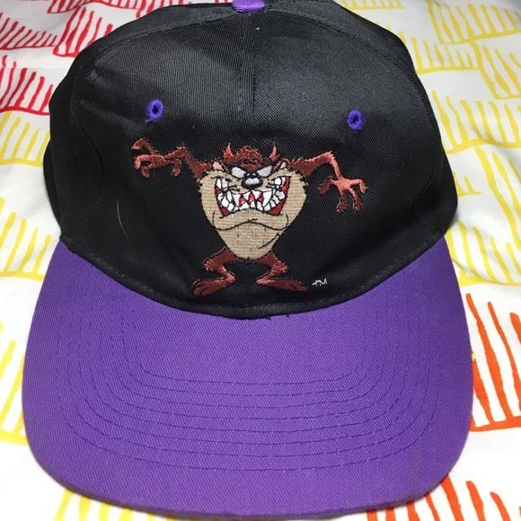 96df70e2015c0 looney tunes Other - Vintage Tazmanian Devil Looney Tunes SnapBack Hat