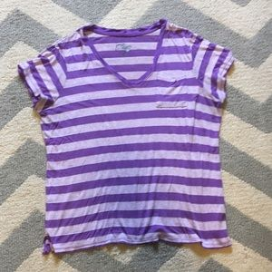 Just My Size Tops - Striped tee