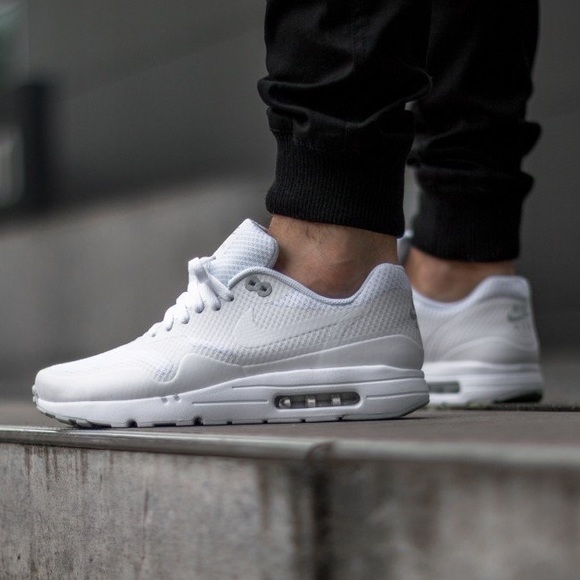 Nike Air Max 1 Mens Blancs Essentiels