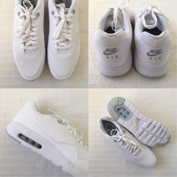 Nike Air Max 1 Pantalones De Los Hombres Blancos Esenciales mIaOVrQg9