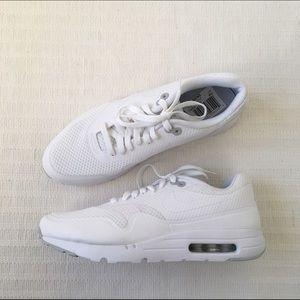 Nike Air Max 1 Essensielle Hvite Menns Joggesko ermRN2x
