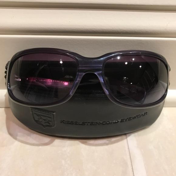 70f696424d5 Kieselstein Cord Accessories - KIESELSTEIN CORD Poker Face Alligator  Sunglasses