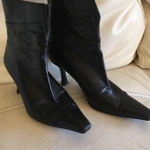 Stewart Weitzman leather booties