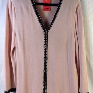 St. John Collection Lite Pink Sweater