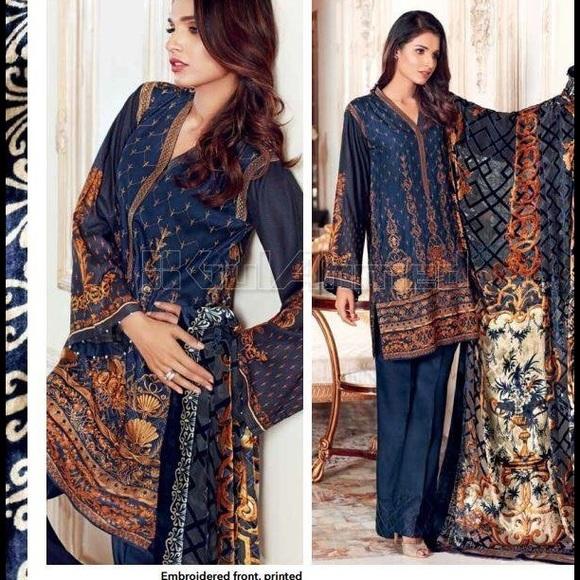 724f09bf4e Gul Ahmed Dresses | Silk Velvet Vl 51 | Poshmark