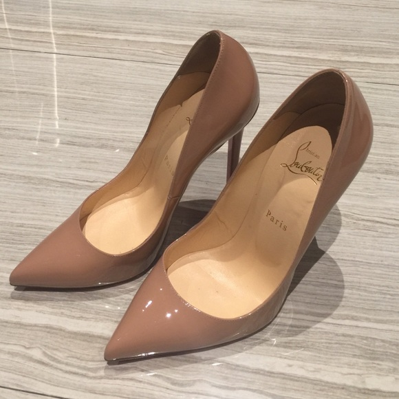 00df09a4f01b Christian Louboutin Shoes - Louboutin So Kate Nude 12 mm size 40