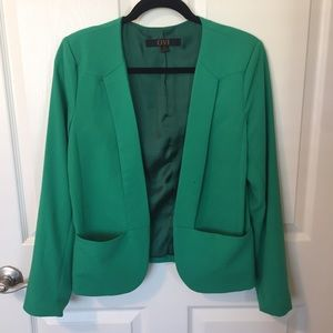 Emerald green blazer
