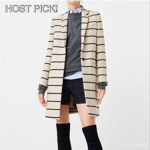 Mango Jackets & Blazers - ❤️HOST PICK!❤️ Mango Striped Jacket