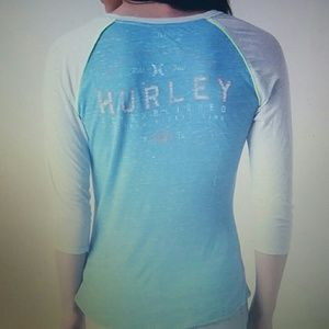 Hurley Tops - Nwot Hurley Hold Fast Perfect Tshirt