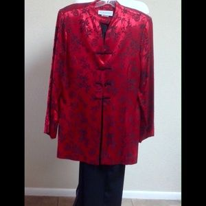 Jessica Howard Other - Jessica Howard Oriental Style Pant Suit