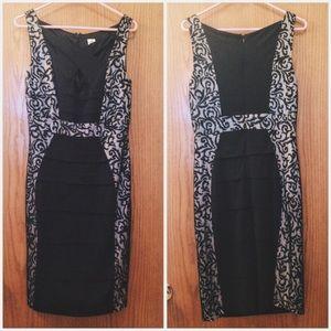 Sangria Dresses & Skirts - Cross Chest, Formal Dress