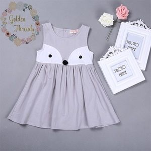 Other - Super cute gray fox dress for up to 24 month old