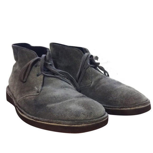 72 clarks other clark s grey suede boot from p s