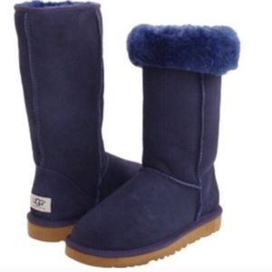 Brand new authentic tall navy UGG boots
