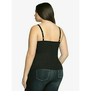 e011cfe0468 Tripp nyc Tops - Tripp Front Lace Up Corset Top