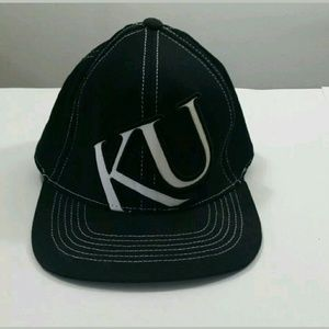 Top of the World Accessories - Black and White KU Jayhawks Ball Cap