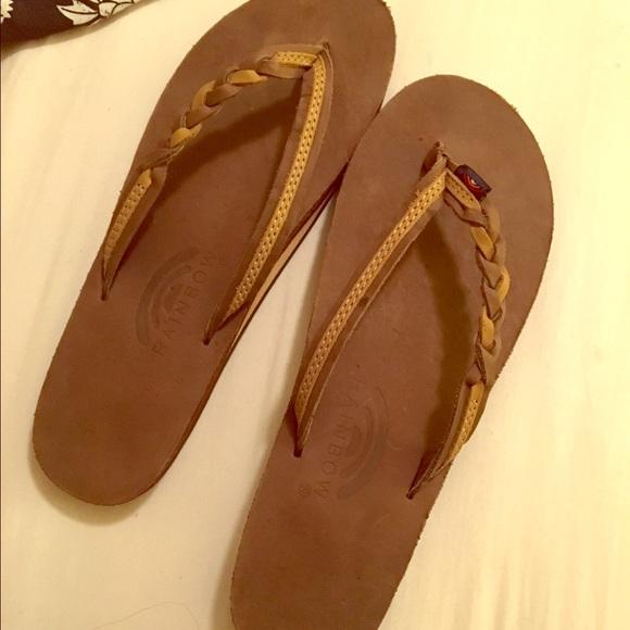 7b689c4ceb09 Women s Braided Rainbow Sandals