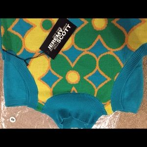 Jeremy Scott Sweaters - Jeremy Scott Rare Sweater Knits size small
