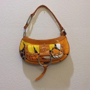 Dolce & Gabbana Discontinued Orange Saddle Bag