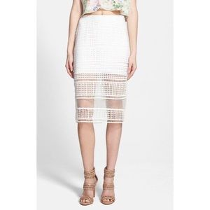 JOA Pencil Skirt