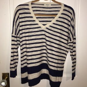 Madewell vneck sweater