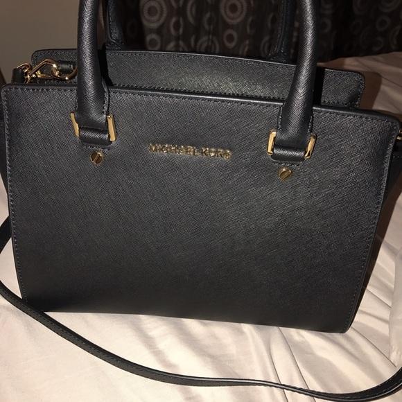 85df7b50e3af MK Selma medium satchel Saffiano leather. NWT. Michael Kors