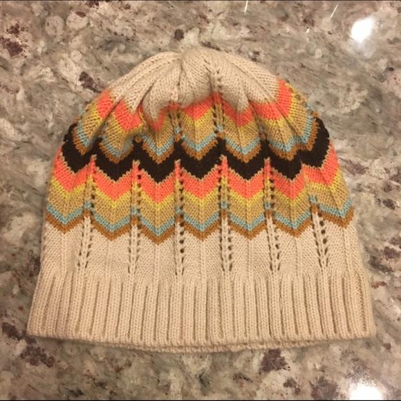 e3ebf538b60 Missoni Accessories - Missoni for Target Multi Zigzag Knit Beanie Hat