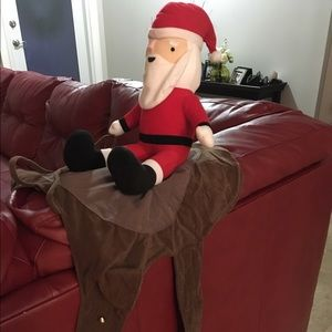 59f9c7f25d688 Target Other - SANTA CLAUS PLUSH RIDING SLEIGH PET COSTUME