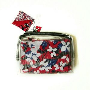 Peter Pilotto for Target Clear/Red Floral Pouch
