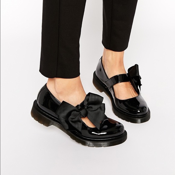 Dr. Martens Shoes - Dr Martens Mariel black patent leather Mary Janes e49ae575f