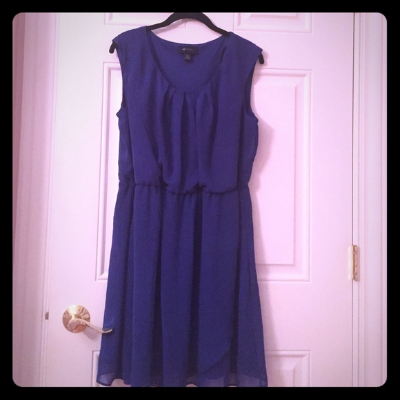 ab studio royal blue casual dress from morgan 39 s closet