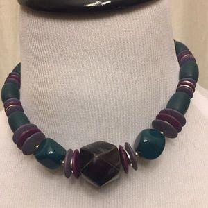 Vintage Jewelry - Lee Bernard Inc. Vintage Amethyst Necklace