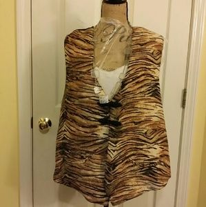 Beautiful Shelly & Co. Woman Vest NWT