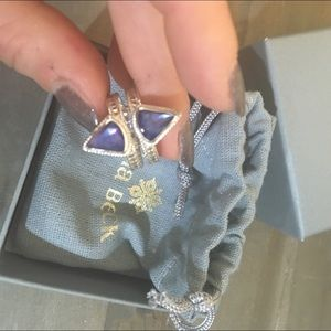 Anna Beck Jewelry - Anna Beck Lapis Double Triangle Ring-Size 8