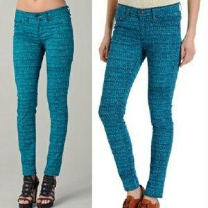 Rag & Bone tweed print legging jean sz 27