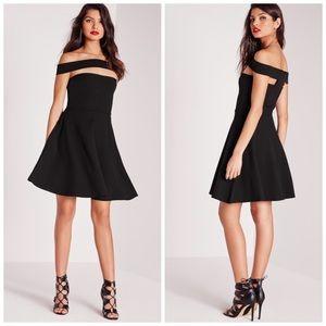 Missguided Dresses & Skirts - NWT Missguided Bardot Skater Dress