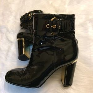 Ash Shoes - Ash Patent leather brenna booties