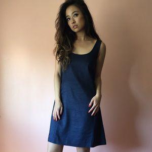 Theory Dresses & Skirts - Theory Denim Linen Dress