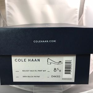 2b16bb624d Cole Haan Shoes - BNIB Cole Haan Kelsey Block heels size 8.5