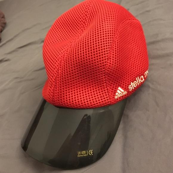 3b1a5becbd664 Adidas by Stella McCartney Accessories - Adidas by Stella McCartney Running  Cap in red
