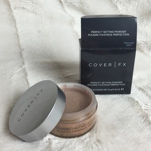 COVER FX PERFECT SETTING POWDER TRANSLUCENT DEEP