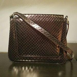 Charles Jourdan Handbags - Charles Jourdan snakeskin shoulder bag