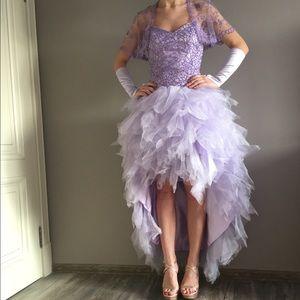 Elie Saab Dresses & Skirts - Elie Saab inspired strapless lavender dress.