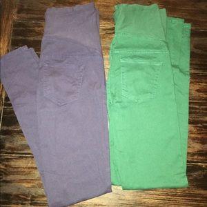 H&M Pants - Two H&M maternity pants