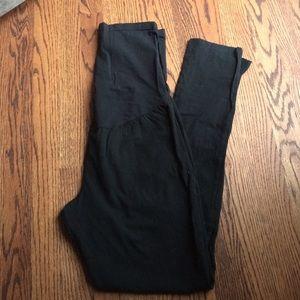 LIZ LANGE MATERNITY black leggings