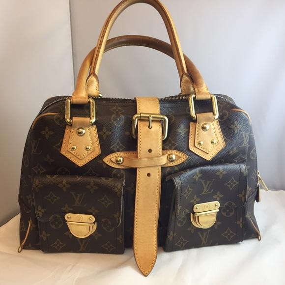 ecf2f9f6b038 Louis Vuitton Handbags - 100% Auth Louis Vuitton Manhattan Buckle Bag!