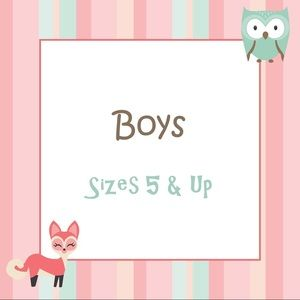 Boys Items Size 5 to 20