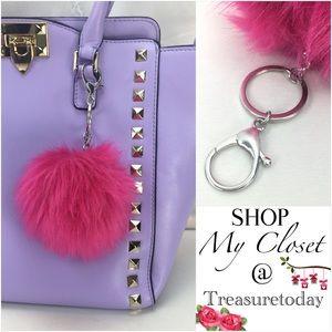 Host Pick Pretty Pom Pom Key Chain / Bag Charm