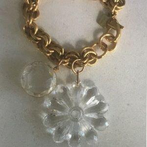 John Wind Art Deco Lucite Bracelet